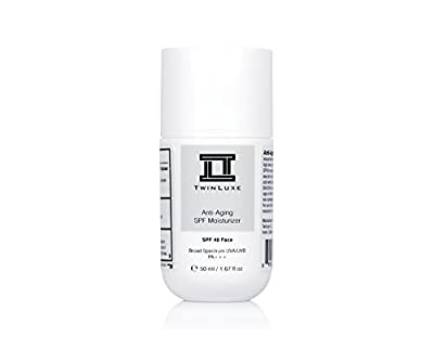 Best Cheap Deal for TwinLuxe Anti-Aging SPF 40 Moisturizer, 1.67 fl. oz. from TwinLuxe - Free 2 Day Shipping Available