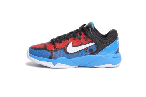 Nike Kobe VII (7) (Preschool) - Photo Blue / White-Team Orange-Black, 12 M US
