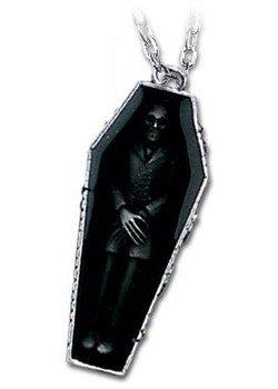 Nosferatu's Rest Pendant by Alchemy Gothic, England