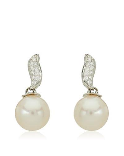 United Pearl Pendientes Blanco