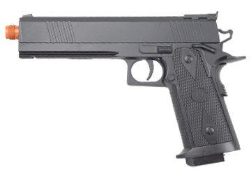 Jls Electric M2022B 200 Fps 1911 Full Auto Blowback Airsoft Pistol Airsoft Gun