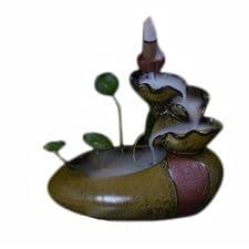 Quemadordeinciensorecipientesoporte Cascada Tradicional meditar