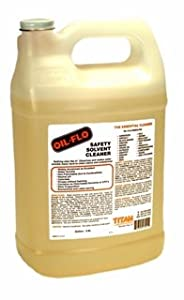 Titan Oil Flo Safety Solvent Cleaner, 1 Gallon Jug from Titan Laboratories, Inc.