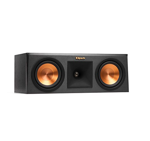 Read About Klipsch RP250C Ebony Center Channel Speaker