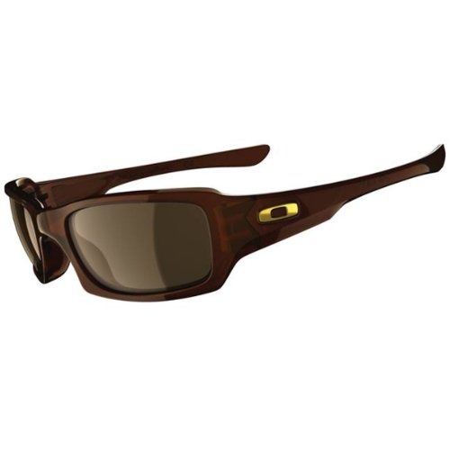 Oakley Fives Squared Sunglasses Rootbeer/Dark Bronze, One Size
