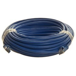 RiteAV - Cat6 Network Ethernet Cable - Blue - 50ft
