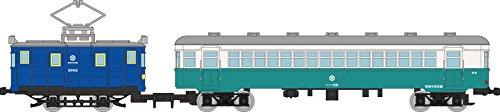 Railway collection Akita central transport orbital line blue (old color) 2-car set
