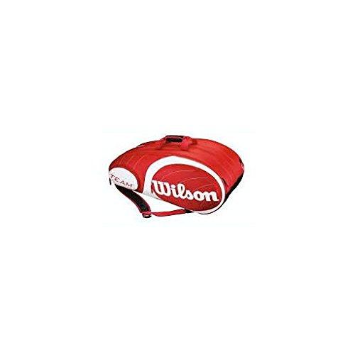 Wilson Schlägertasche Racketbag 15er, Rot, 77 x 51 x 35 cm, 90 Liter, WRZ847615