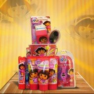 Gift Baskets for Girls Dora the Explorer Accessories Perfect for Graduation, birthday Basket or Get Well soon whishes