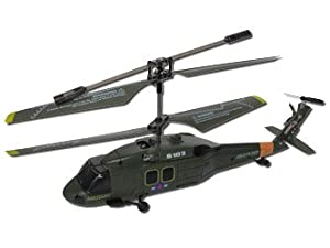 Syma S102G 3-Channel RC Helicopter (Black Hawk UH-60)