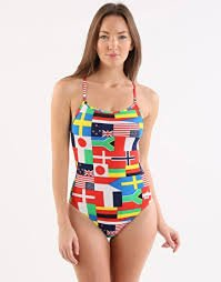 Arena Flags High One Piece Multicolor W 40