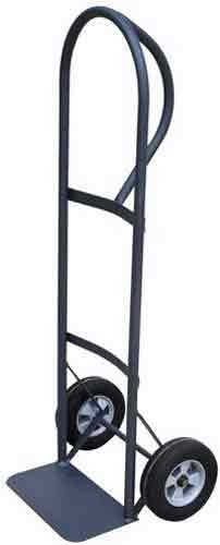 Milwaukee Hand Trucks 30020 P-Handle Truck with 8-Inch Puncture Proof Tires