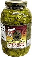 Cajun Chef Nacho Sliced Jalapenos 64oz Jar (Pack of 1) (Cajun Chef Jalapeno compare prices)
