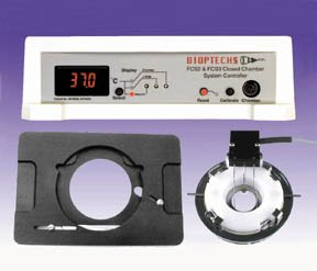 Bioptechs Fcs2 Closed System, Bioptechs Fcs2 Nikon Diaphot, Olympus Imt2, Ix70 Stage Adapter