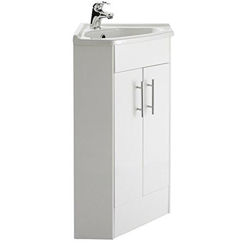 Trueshopping nvc180 mobile per il bagno porta lavandino - Lavandino angolare bagno ...