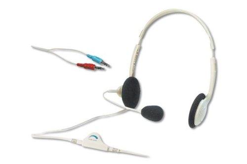 Digitus Multimedia Stereo Kopfhörer mit Mikrofon [DA-10201]