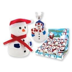 Snowman Pendant Chidren's Necklace - 1