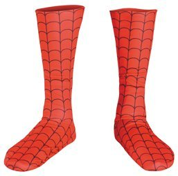 Disguise Marvel Spider-Man Child Boot Covers Costume Accessory, One Size Child