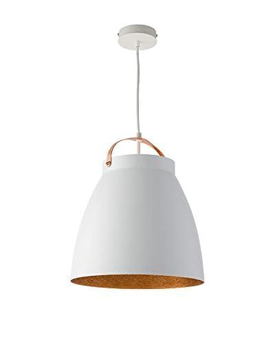 Lightshape Lámpara De Suspensión Malia M Blanco/Cobre