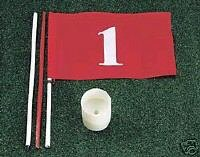 Jef World of Golf Gifts and Gallery, Inc. Backyard Target Flag
