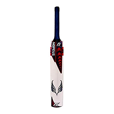 Nopeus CAPTAIN (Blue Red) Popular Willow Cricket Bat, Size Full