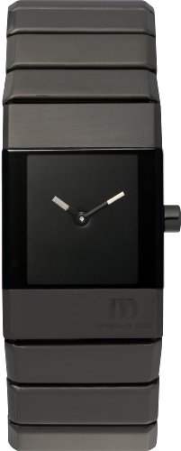 Danish Designs Women's IV64Q767 Stainless Steel Black Ion Plated Watch