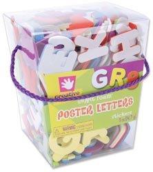 Fibre Craft Foam Stickers 5 Ounces/Pkg Poster Letters 67862E; 3 Items/Order