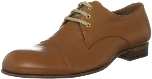 The Old Curiosity Shop Men's D-1 Tan Lace Up 7 UK