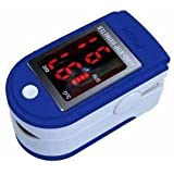 Biosync Finger Pulse Oximeter & Heart Rate Monitor w/ Instructions, Lanyard & Case