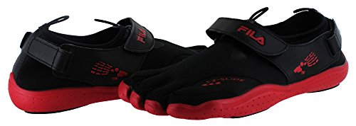 Fila Mens Skele-Toes Ez Slide Drainage Castlerock Textile/Synthetic Sandals 11