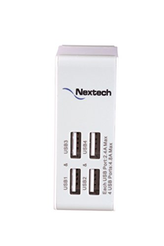 Nextech-USB25-4-Port-Travel-Charger