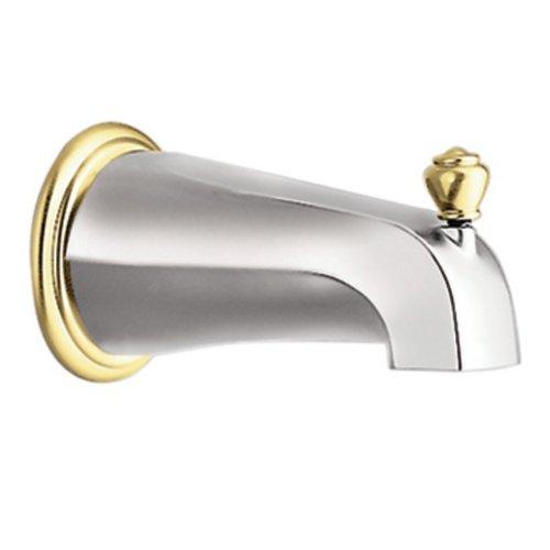 Moen 3807CP Monticello Diverter Tub Spout (Moen Shower Trim Kits Gold compare prices)
