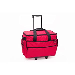Bluefig Tb19 Sewing Machine Trolley In Red from Bluefig