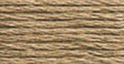DMC Pearl Cotton Skeins Size 3 16.4 Yards Light Beige Brown 115 3-841; 12 Items/Order