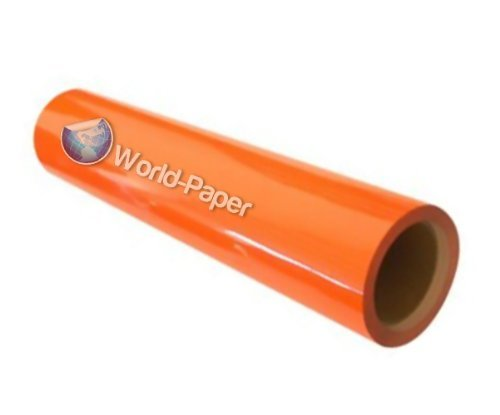 Heat Transfer Vinyl (Neon Orange By Yard) front-962320
