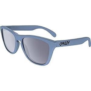 Oakley Men's Frogskins Polarized Blue/Grey Sunglasses