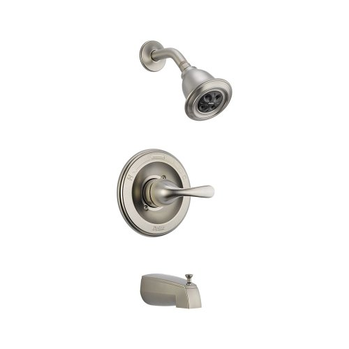 1-1//2-Inch x 24-Inch 1.75-gpm Chrome//Stainless Moen 52224GBM17 Commercial M-Dura Shower Slide Bar//Grab Bar with Hand Shower