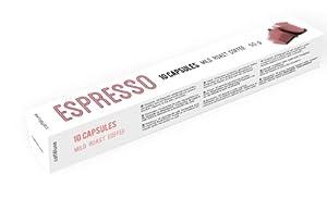 Nespresso Compatible Capsules Caffe Luxe Mild Roast Espresso (Box of 10 Caps) Free Delivery