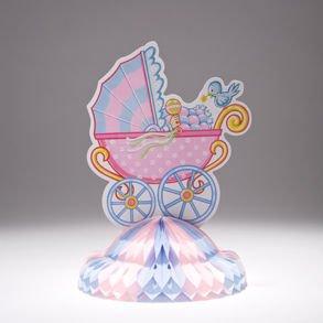 Baby Shower Carriage Centerpiece