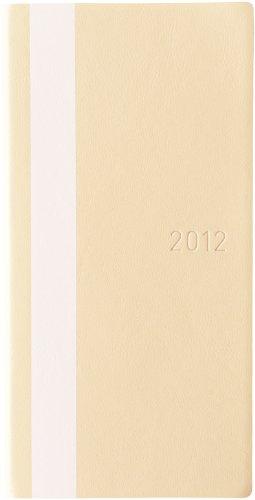 ほぼ日手帳 2012 WEEKS(ホワイトライン・アイボリー)