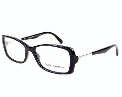 Dolce & Gabbana Dg3156 Eyeglasses-501 Black-51Mm