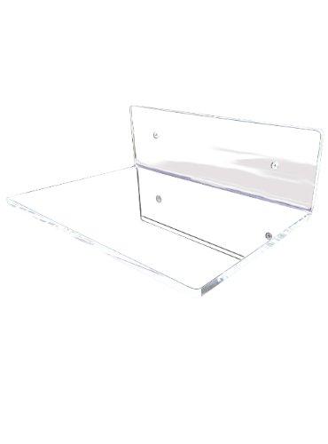 mensole curve ikea : Mensola da parete ad L in plexiglass trasparente libreria lunghezza 30 ...