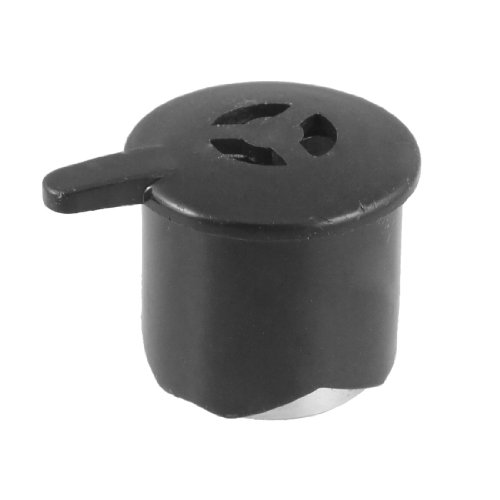 Black Silver Tone Steam Exhaust Safety Valve For Electric Pressure Cooker