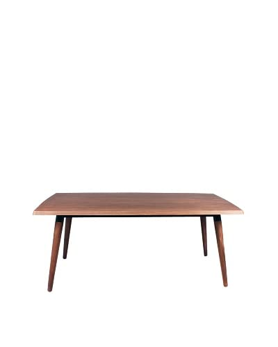 Control Brand Mccardy Dining Table, Natural/Black