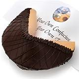 Giant Dark Chocolate Lover's Gourmet Fortune Cookie