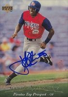 Jermaine Allensworth Carolina Mudcats - Pirates Affiliate 1994 Upper Deck Top... by Hall of Fame Memorabilia