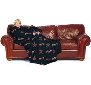 MLB Comfy Throw Blanket With Sleeves