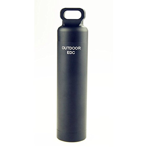 E-Bestar impermeabile Portapillole portachiavi in alluminio per porta medicina piccoli articoli