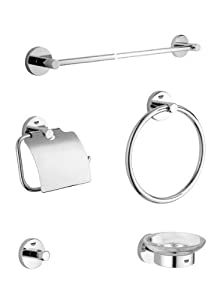 Grohe 40 344 000 Essentials Accessory Kit, StarLight Chrome