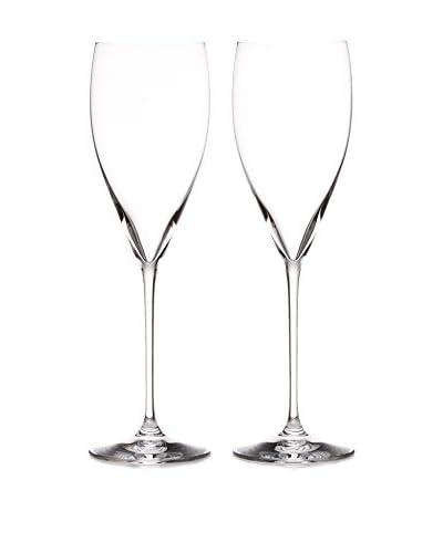 Riedel Set of 2 Vinum XL 12-Oz. Champagne Glasses, Clear